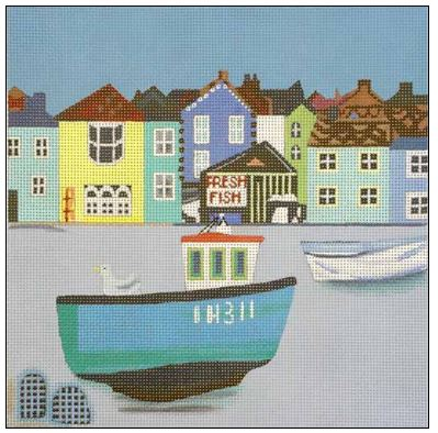 click here to view larger image of Aldeburgh (hand painted canvases)