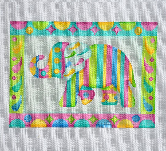 click here to view larger image of Baby Elephant (hand painted canvases)