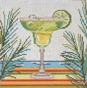 click here to view larger image of Classic Margarita - 13ct  (hand painted canvases)