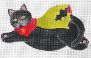click here to view larger image of BatCat (hand painted canvases)
