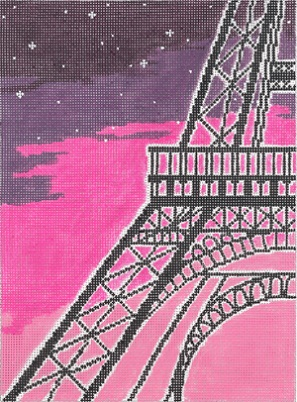 click here to view larger image of 18 Hours In Paris (hand painted canvases)