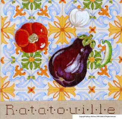 click here to view larger image of Ratatouille (hand painted canvases)