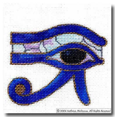 click here to view larger image of Sacred Eye (hand painted canvases)