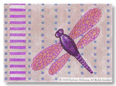 click here to view larger image of Details - Dragonfly (hand painted canvases)