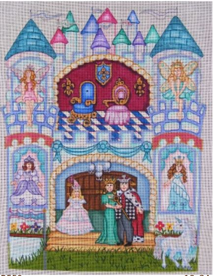 click here to view larger image of Castle Doll (hand painted canvases)