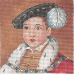 click here to view larger image of Edward (hand painted canvases)