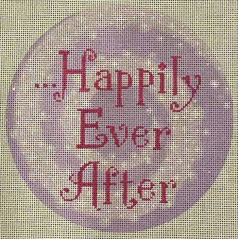 click here to view larger image of Happily Ever After (hand painted canvases)