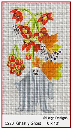 click here to view larger image of Ghastly Ghost (hand painted canvases)