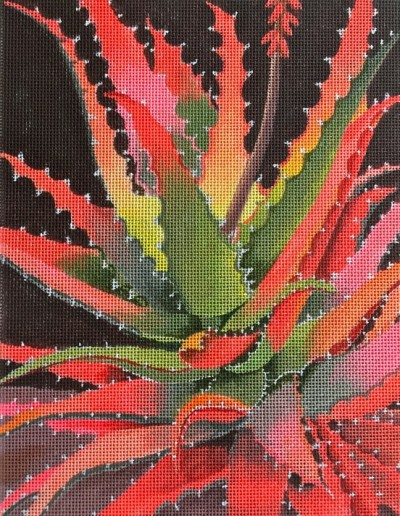click here to view larger image of Sunset Agave (hand painted canvases)