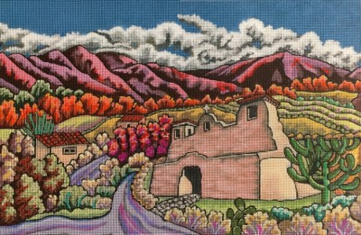 click here to view larger image of Valley Of My Dreams (hand painted canvases)