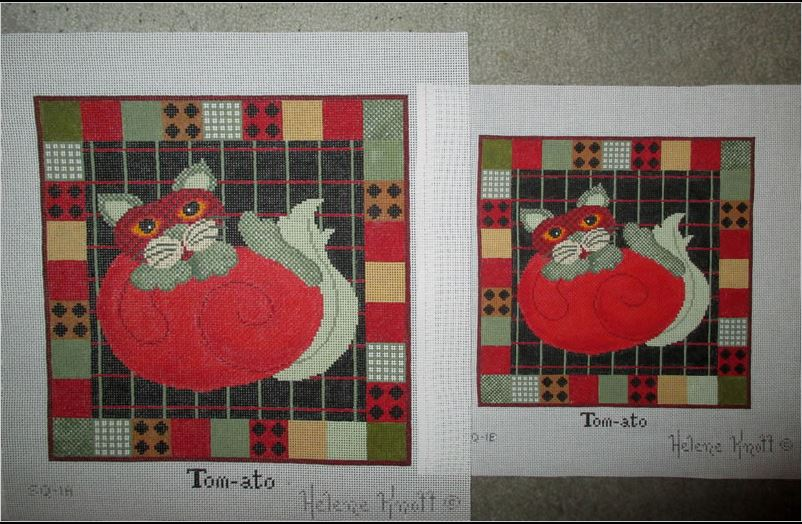 click here to view larger image of Tom-ato - 13ct (hand painted canvases)