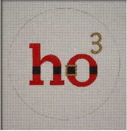 HO3 Ornament hand painted canvases