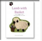 click here to view larger image of Lamb With Basket Stitch Guide (books)