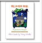 click here to view larger image of Halloween Holiday House Stitch Guide (books)