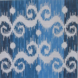 click here to view larger image of IKAT III (hand painted canvases)