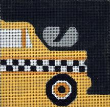 click here to view larger image of Taxi Driver (hand painted canvases)