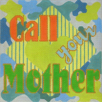click here to view larger image of Call Your Mother - Tropical  (hand painted canvases)