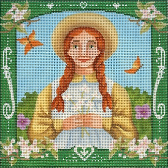 click here to view larger image of Anne Of Green Gables Square (hand painted canvases)