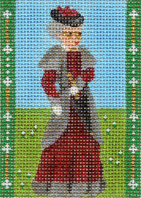 click here to view larger image of Avonlea Characters - Aunt Josephine (hand painted canvases)