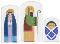 click here to view larger image of Holy Family - Stitch Guide (books)