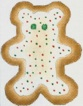 click here to view larger image of Bear Cookie (hand painted canvases)
