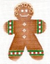 click here to view larger image of Gingerbread Boy (hand painted canvases)
