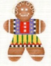 click here to view larger image of Gingerbread Girl (hand painted canvases)