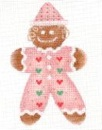 click here to view larger image of Gingerbread Baby (hand painted canvases)