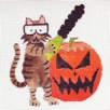 click here to view larger image of Chainsaw Kitty (hand painted canvases)