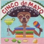 click here to view larger image of Chicos Cinco De Mayo Party (hand painted canvases)