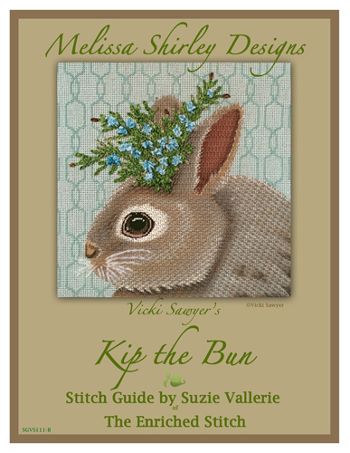 click here to view larger image of Kip The Bun - Stitch Guide (books)