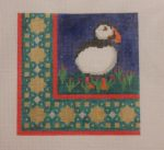 click here to view larger image of Arctic Animals - Puffin (hand painted canvases)