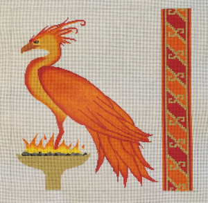 click here to view larger image of Phoenix - Inspired by Fawkes (hand painted canvases)