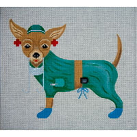 click here to view larger image of Nurse KoKo (hand painted canvases)