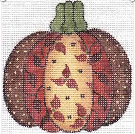 click here to view larger image of Brown Pumpkin (hand painted canvases)