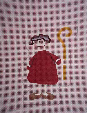 click here to view larger image of Shepherd Boy (Red) (hand painted canvases)