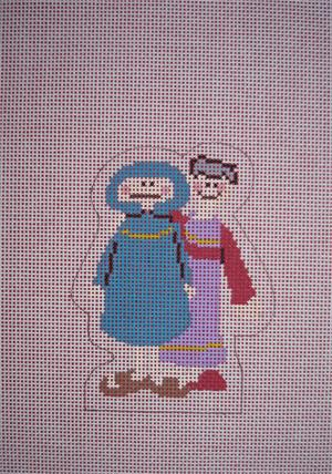 click here to view larger image of Joseph and Mary (hand painted canvases)