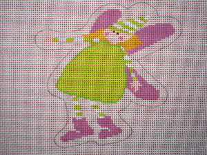click here to view larger image of Green Fairy (hand painted canvases)