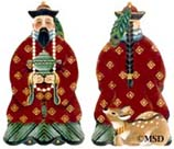 click here to view larger image of Chinese King (hand painted canvases)