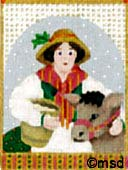 click here to view larger image of Maids A Milking (hand painted canvases)