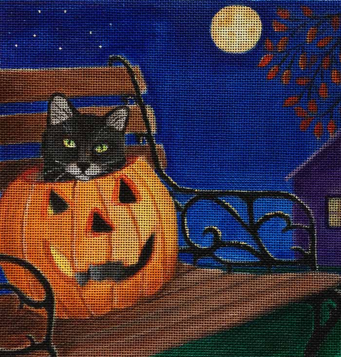 click here to view larger image of Bewitching Hour (hand painted canvases)