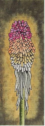 click here to view larger image of Hot Poker (hand painted canvases)