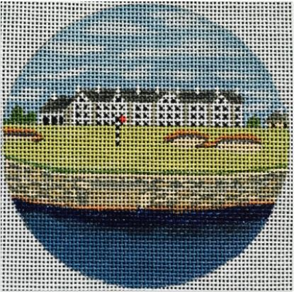 click here to view larger image of Carnoustie, Scotland Ornament (hand painted canvases)