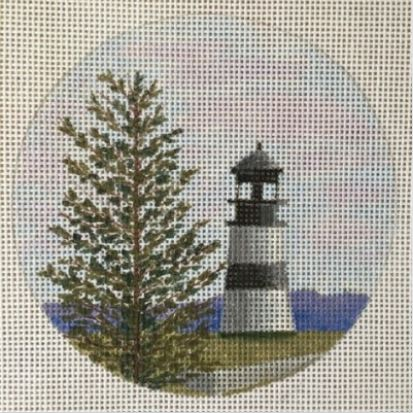 click here to view larger image of Cape Disappointment Light - WA   (hand painted canvases)