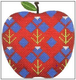 click here to view larger image of Lupin Apple (hand painted canvases)