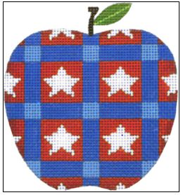 click here to view larger image of Star Apple (hand painted canvases)