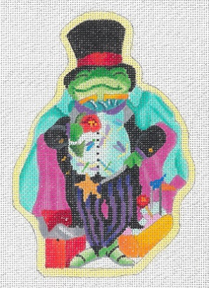 click here to view larger image of Famous Magic Frog (hand painted canvases)