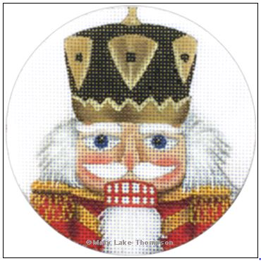 click here to view larger image of Drummer Nutcracker Ornament (hand painted canvases)