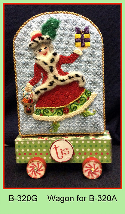 click here to view larger image of Wagon for Tis The Season To Be Jolly Mrs Santa (accessories)