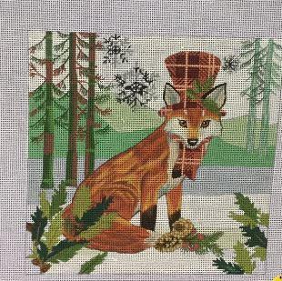 click here to view larger image of Fox (hand painted canvases)
